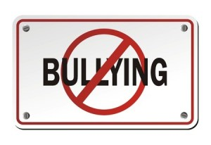 Bullying sign besomeonetotell
